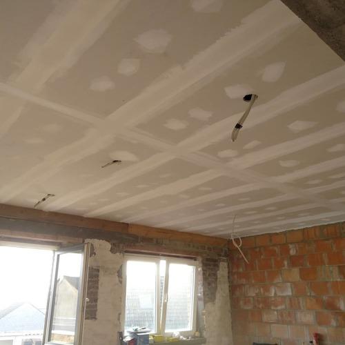 Joeri Fiers - Plafond met spots. + isolatie